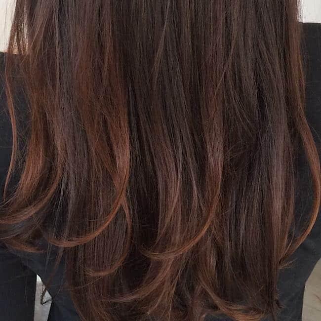 Gesunde lange Haare,natürliche Haarfarbe, tolle Haarprodukte
